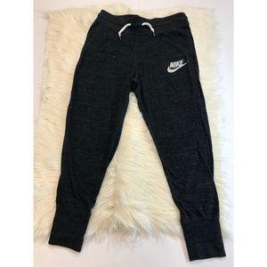 Nike small heather gray lightweight sweatpants